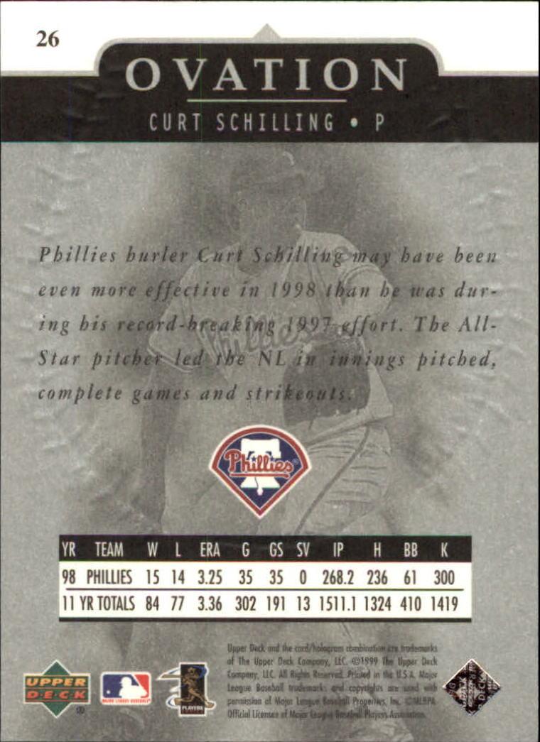 1999-Upper-Deck-Ovation-Baseball-Cards-Pick-From-List thumbnail 49
