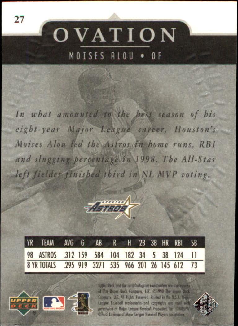 1999-Upper-Deck-Ovation-Baseball-Cards-Pick-From-List thumbnail 51