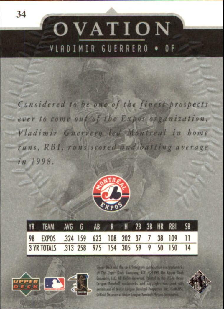 1999-Upper-Deck-Ovation-Baseball-Cards-Pick-From-List thumbnail 63