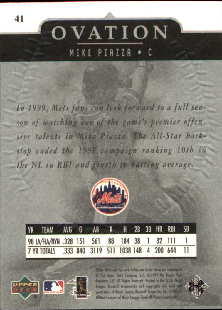 1999-Upper-Deck-Ovation-Baseball-Cards-Pick-From-List thumbnail 75