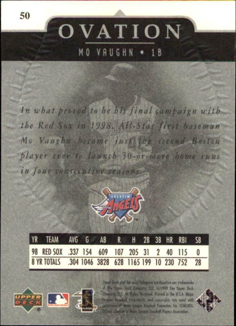 1999-Upper-Deck-Ovation-Baseball-Cards-Pick-From-List thumbnail 91