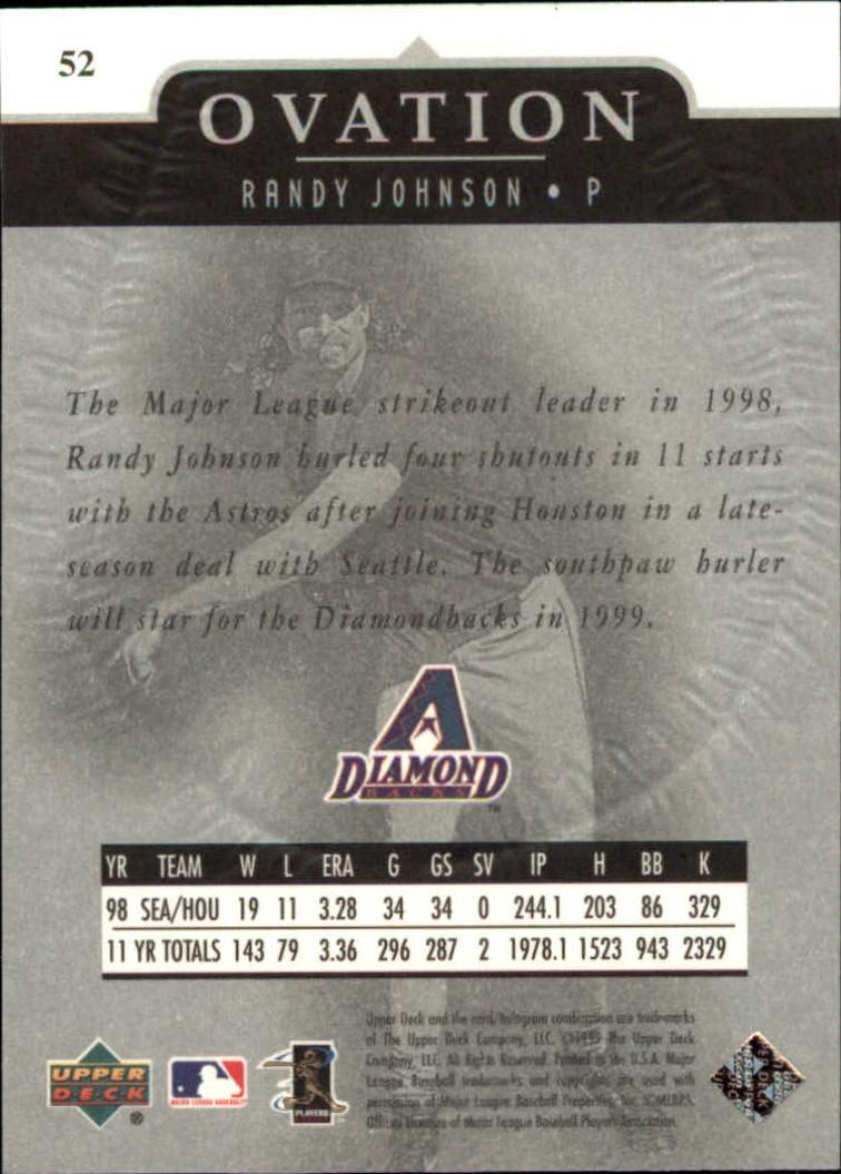 1999-Upper-Deck-Ovation-Baseball-Cards-Pick-From-List thumbnail 95