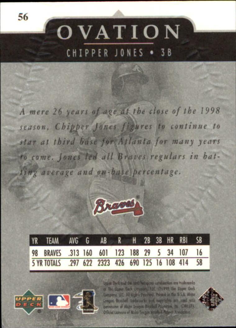 1999-Upper-Deck-Ovation-Baseball-Cards-Pick-From-List thumbnail 103
