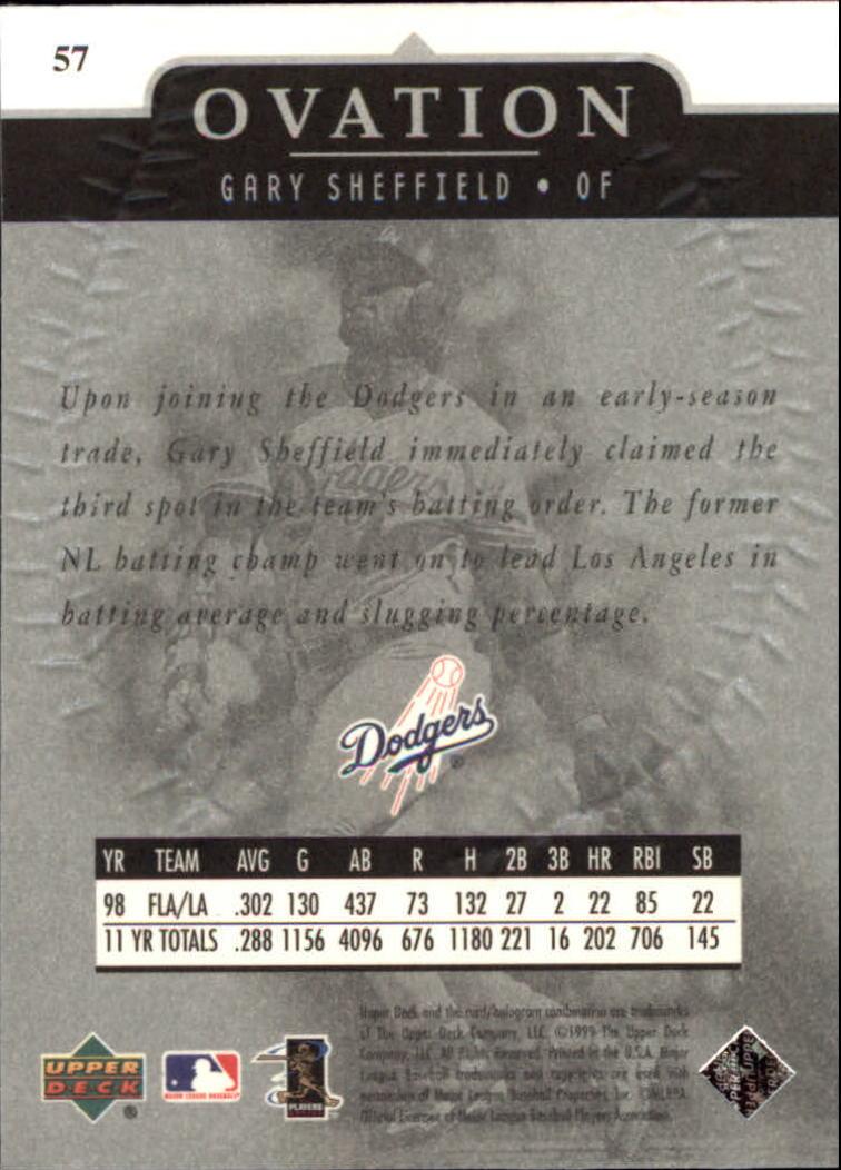 1999-Upper-Deck-Ovation-Baseball-Cards-Pick-From-List thumbnail 105