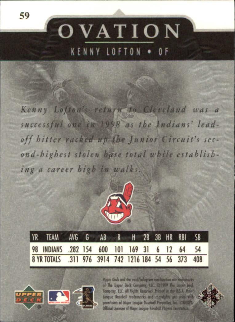 1999-Upper-Deck-Ovation-Baseball-Cards-Pick-From-List thumbnail 109