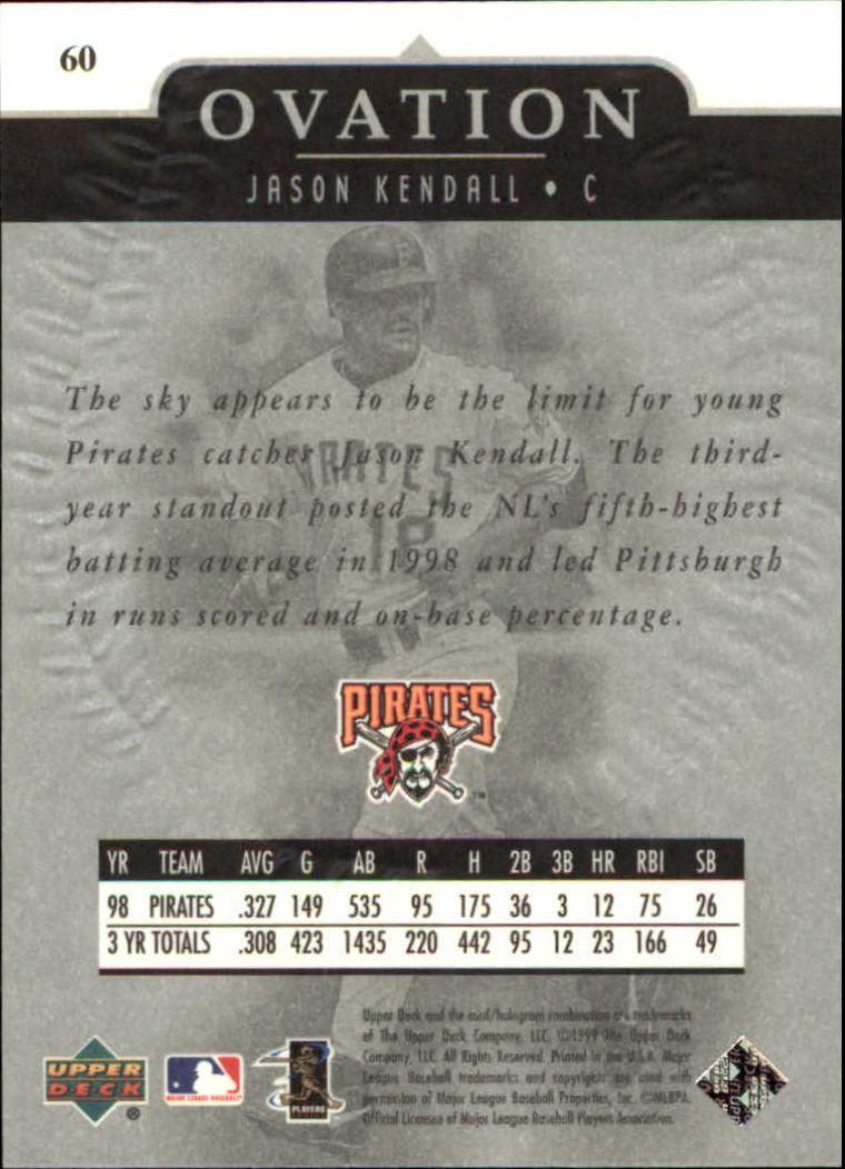 1999-Upper-Deck-Ovation-Baseball-Cards-Pick-From-List thumbnail 111