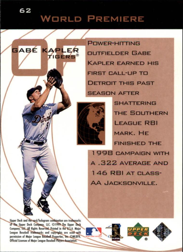 1999-Upper-Deck-Ovation-Baseball-Cards-Pick-From-List thumbnail 113