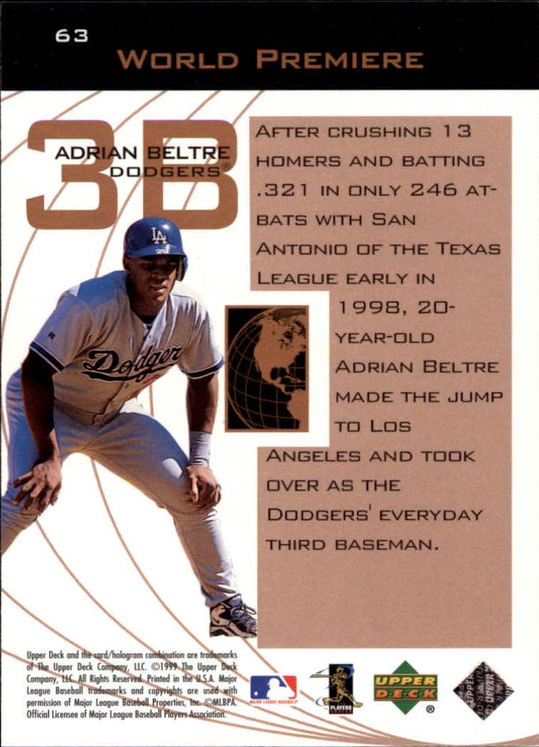 1999-Upper-Deck-Ovation-Baseball-Cards-Pick-From-List thumbnail 115