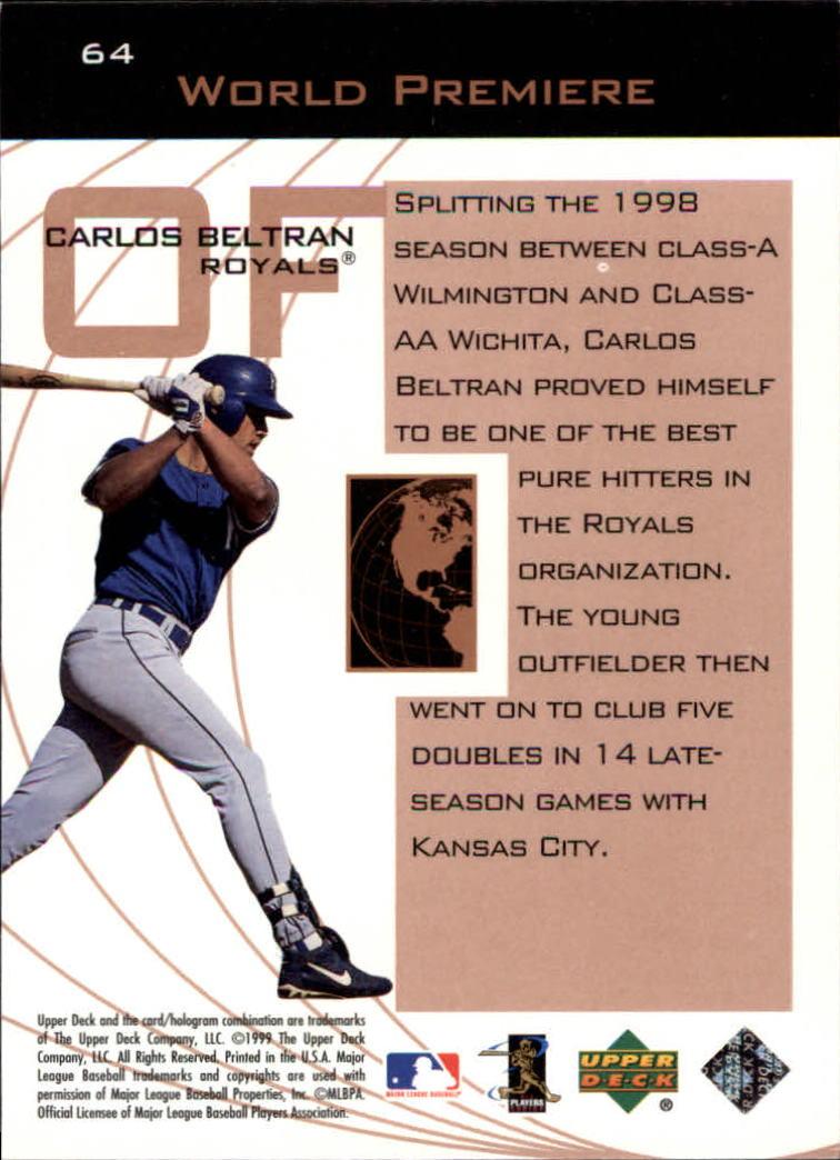 1999-Upper-Deck-Ovation-Baseball-Cards-Pick-From-List thumbnail 117
