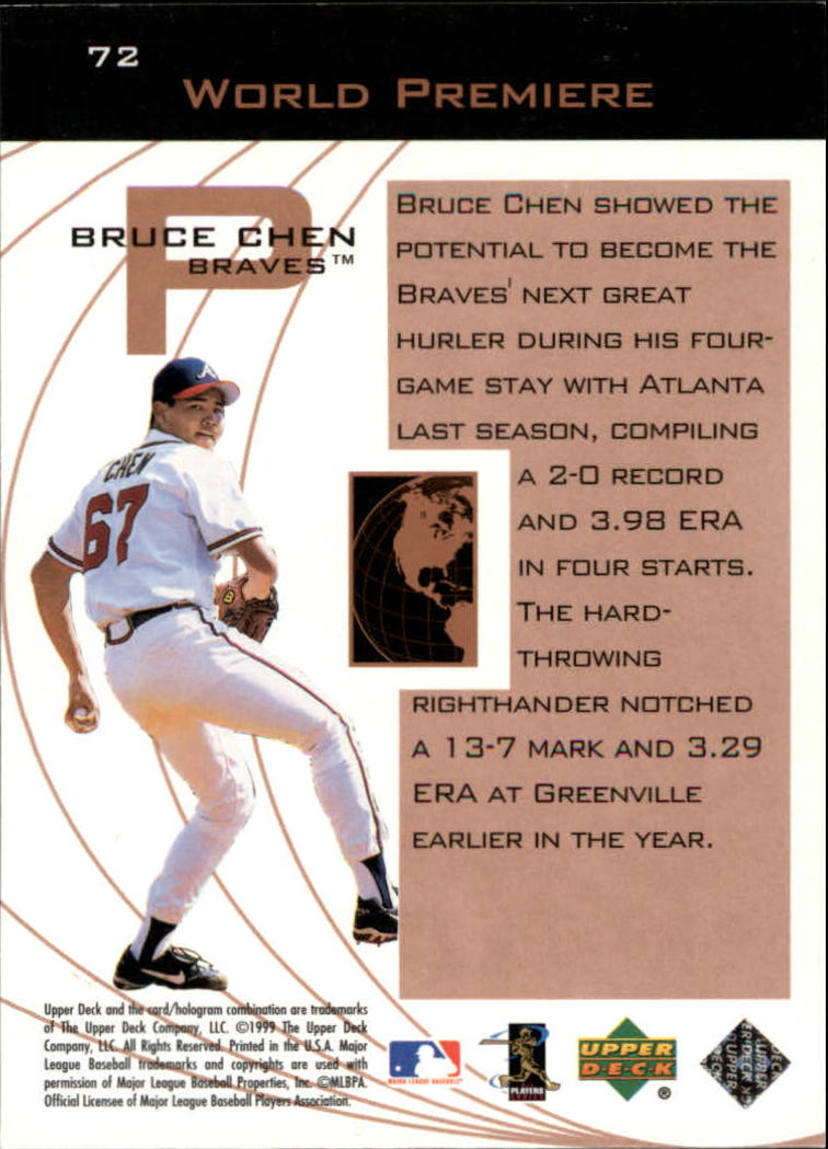 1999-Upper-Deck-Ovation-Baseball-Cards-Pick-From-List thumbnail 121