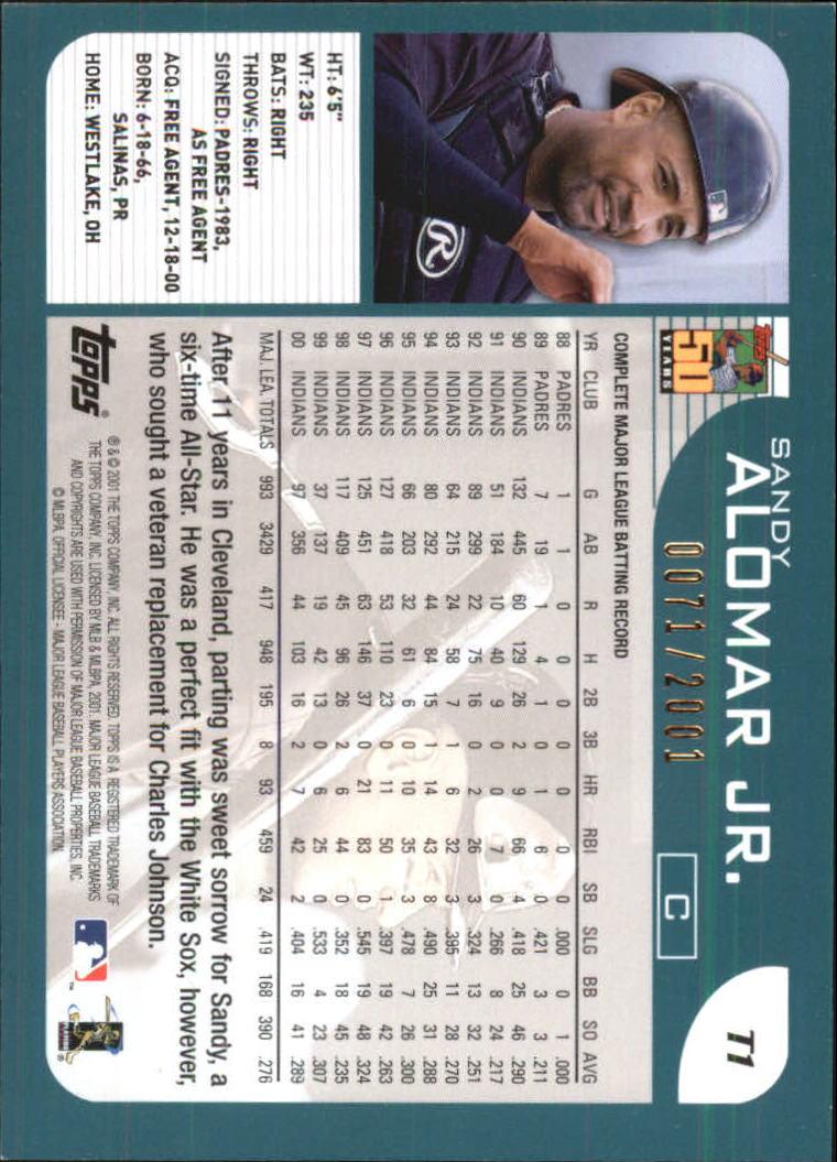 2001-Topps-Traded-Gold-Baseball-Card-Pick thumbnail 3