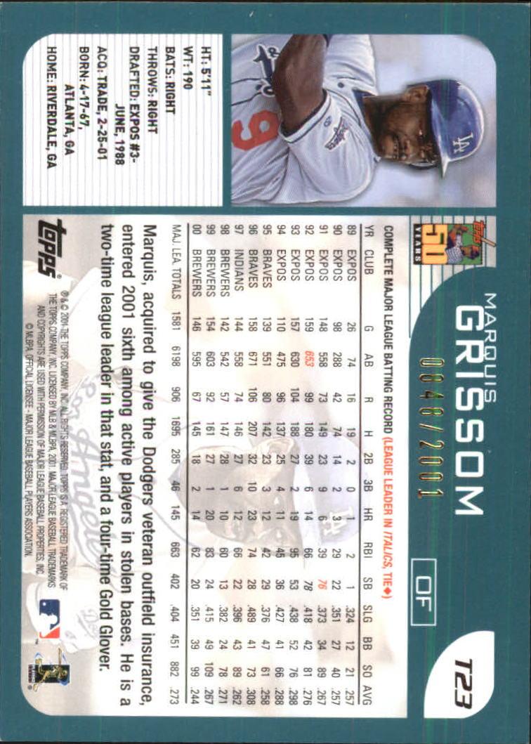 2001-Topps-Traded-Gold-Baseball-Card-Pick thumbnail 5