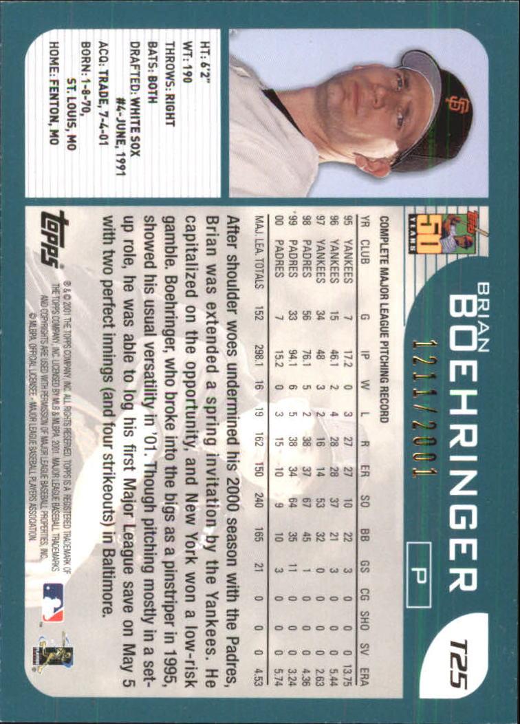 2001-Topps-Traded-Gold-Baseball-Card-Pick thumbnail 9