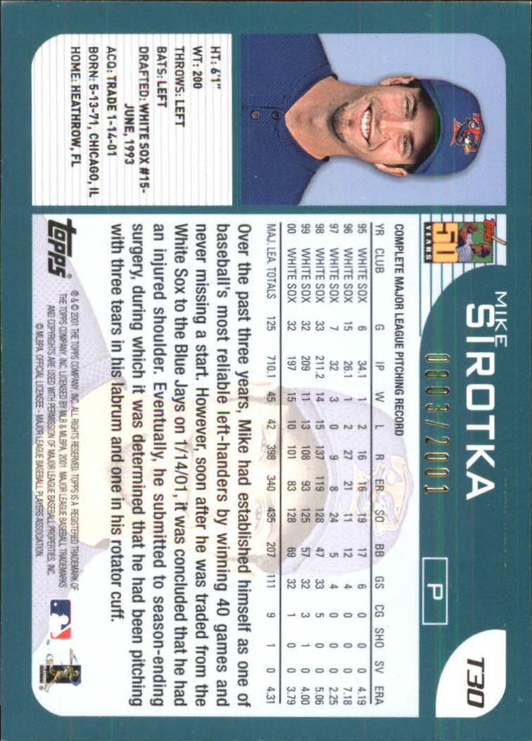2001-Topps-Traded-Gold-Baseball-Card-Pick thumbnail 13