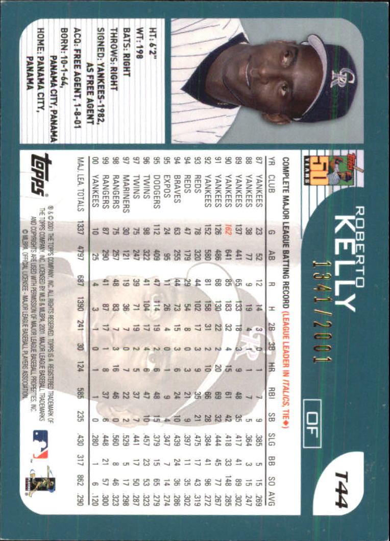 2001-Topps-Traded-Gold-Baseball-Card-Pick thumbnail 19