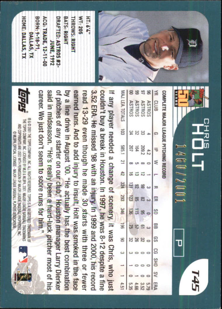 2001-Topps-Traded-Gold-Baseball-Card-Pick thumbnail 21