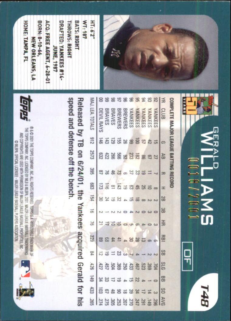 2001-Topps-Traded-Gold-Baseball-Card-Pick thumbnail 23