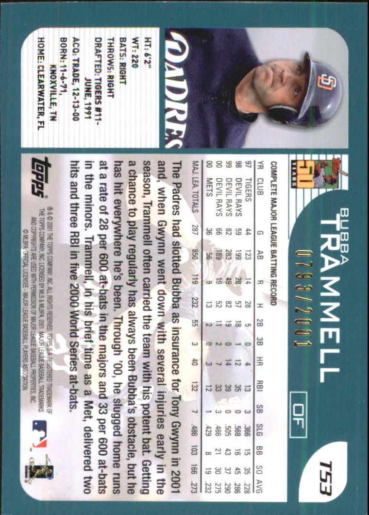 2001-Topps-Traded-Gold-Baseball-Card-Pick thumbnail 29