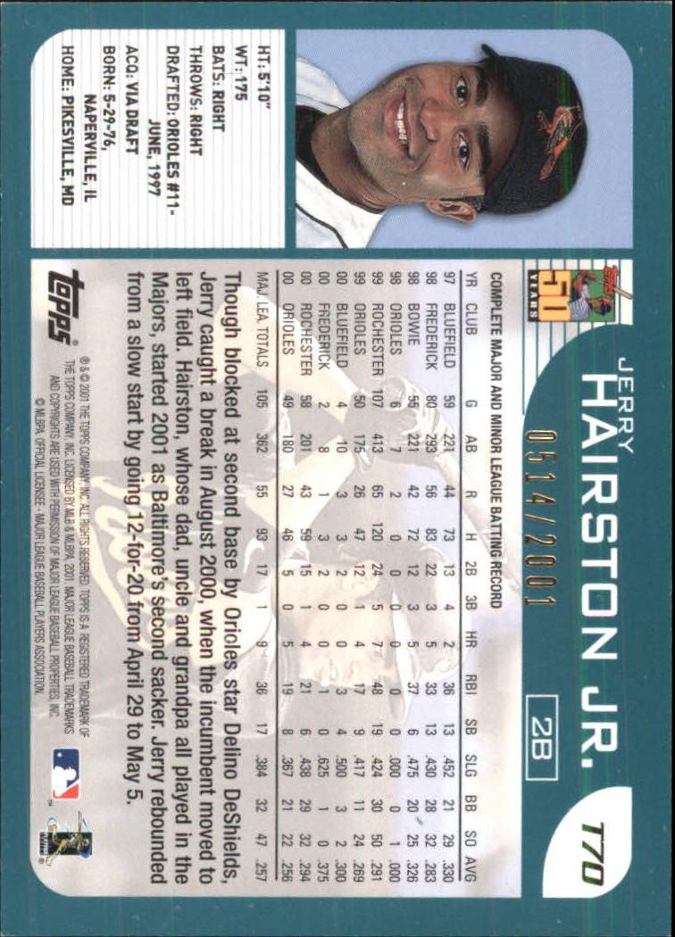 2001-Topps-Traded-Gold-Baseball-Card-Pick thumbnail 31