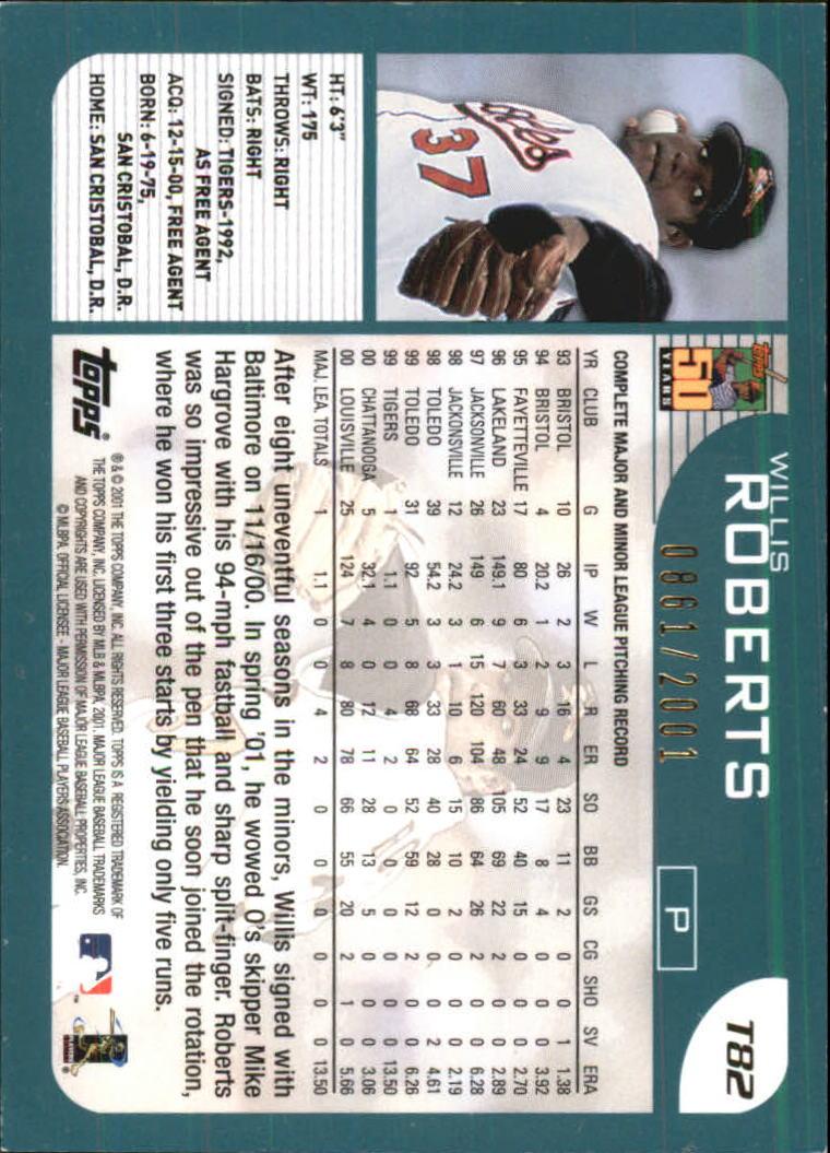2001-Topps-Traded-Gold-Baseball-Card-Pick thumbnail 37