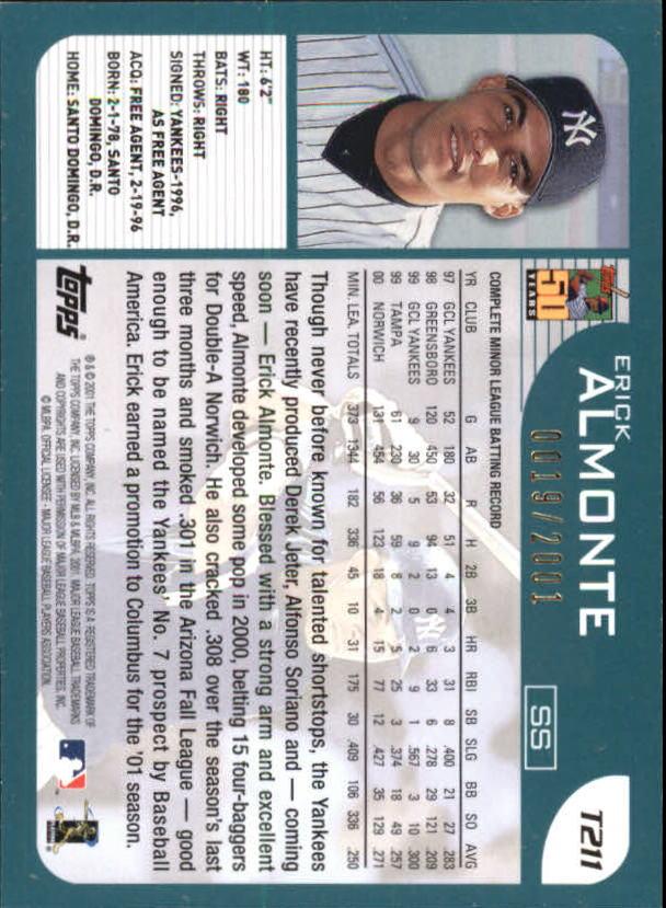 2001-Topps-Traded-Gold-Baseball-Card-Pick thumbnail 57