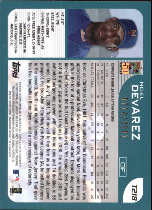 2001-Topps-Traded-Gold-Baseball-Card-Pick thumbnail 59