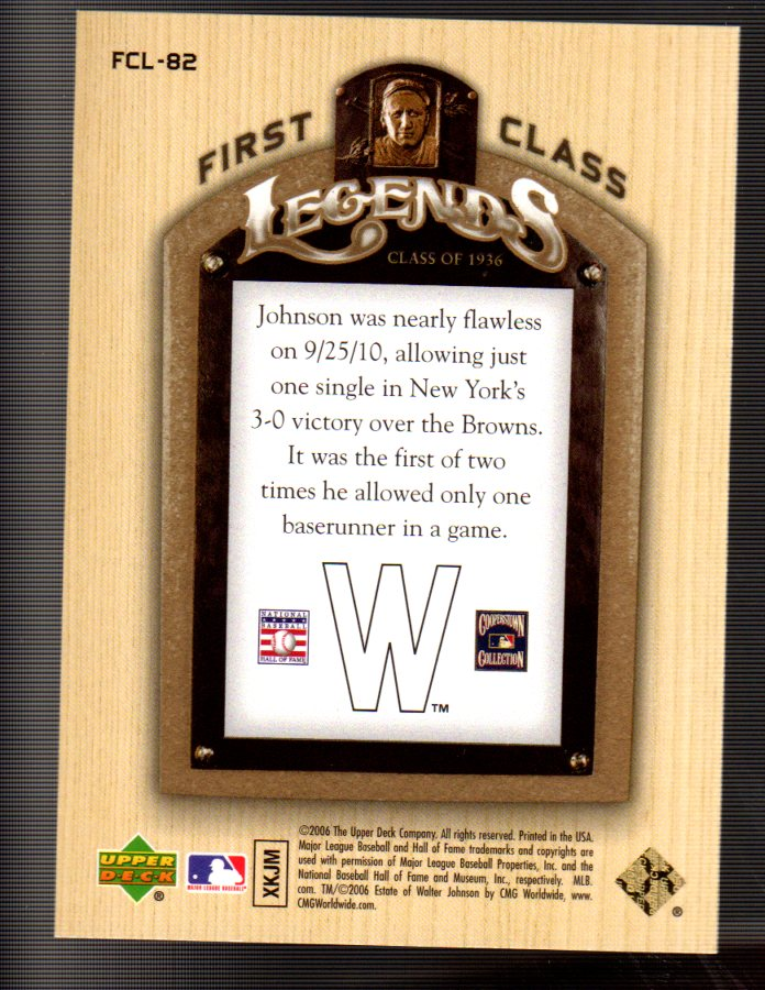 2006-Upper-Deck-First-Class-Legends-Gold-Baseball-Card-Pick miniature 52