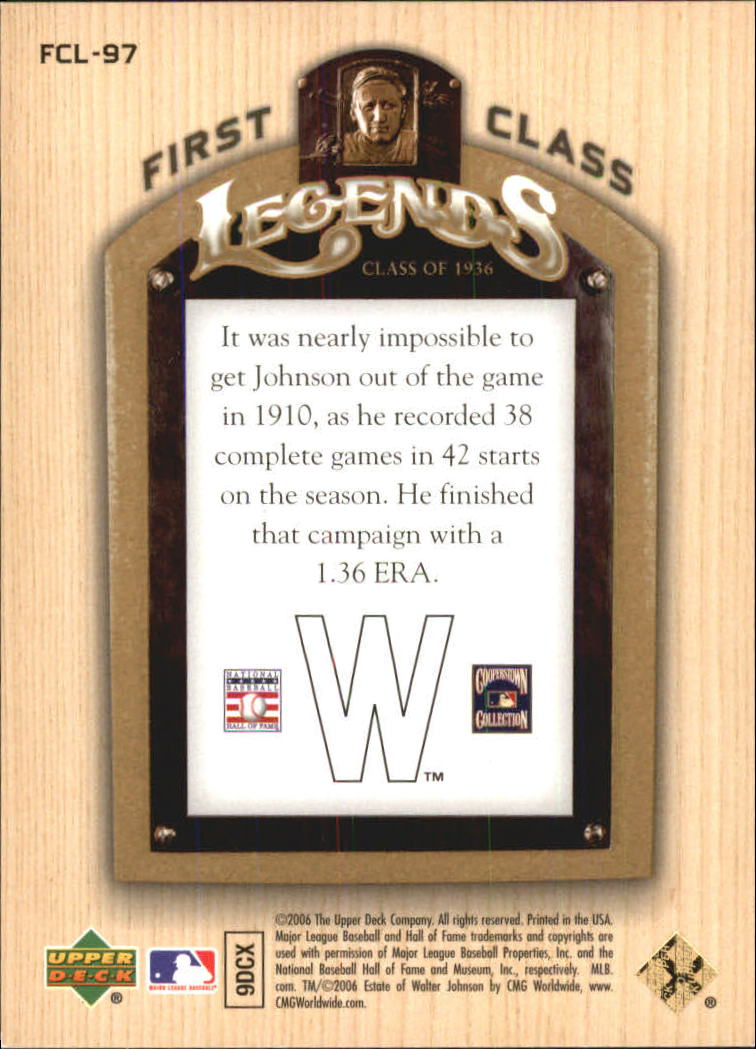 2006-Upper-Deck-First-Class-Legends-Gold-Baseball-Card-Pick miniature 60
