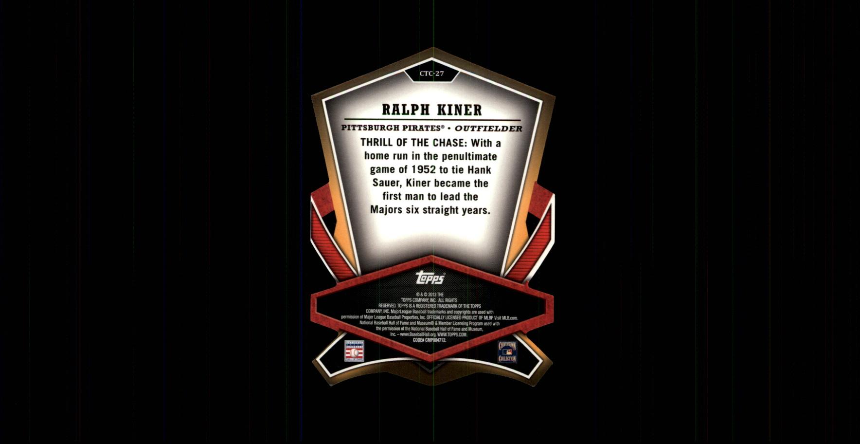 2013-Topps-Cut-To-The-Chase-Baseball-Card-Pick thumbnail 35
