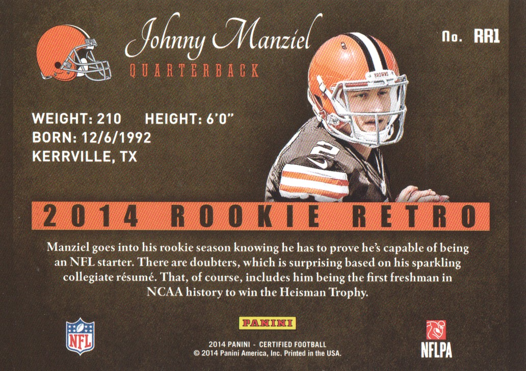 2014-Certified-Rookie-Retro-Football-Card-Pick thumbnail 3