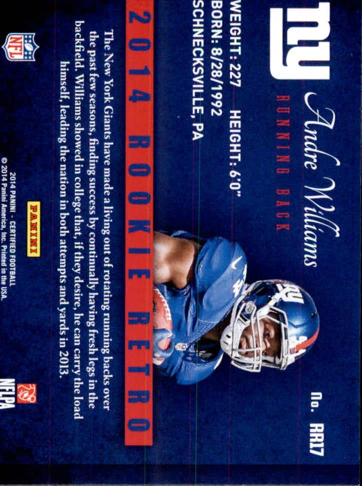 2014-Certified-Rookie-Retro-Football-Card-Pick thumbnail 21