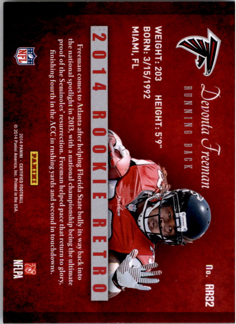 2014-Certified-Rookie-Retro-Football-Card-Pick thumbnail 41