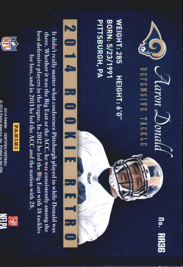 2014-Certified-Rookie-Retro-Football-Card-Pick thumbnail 45