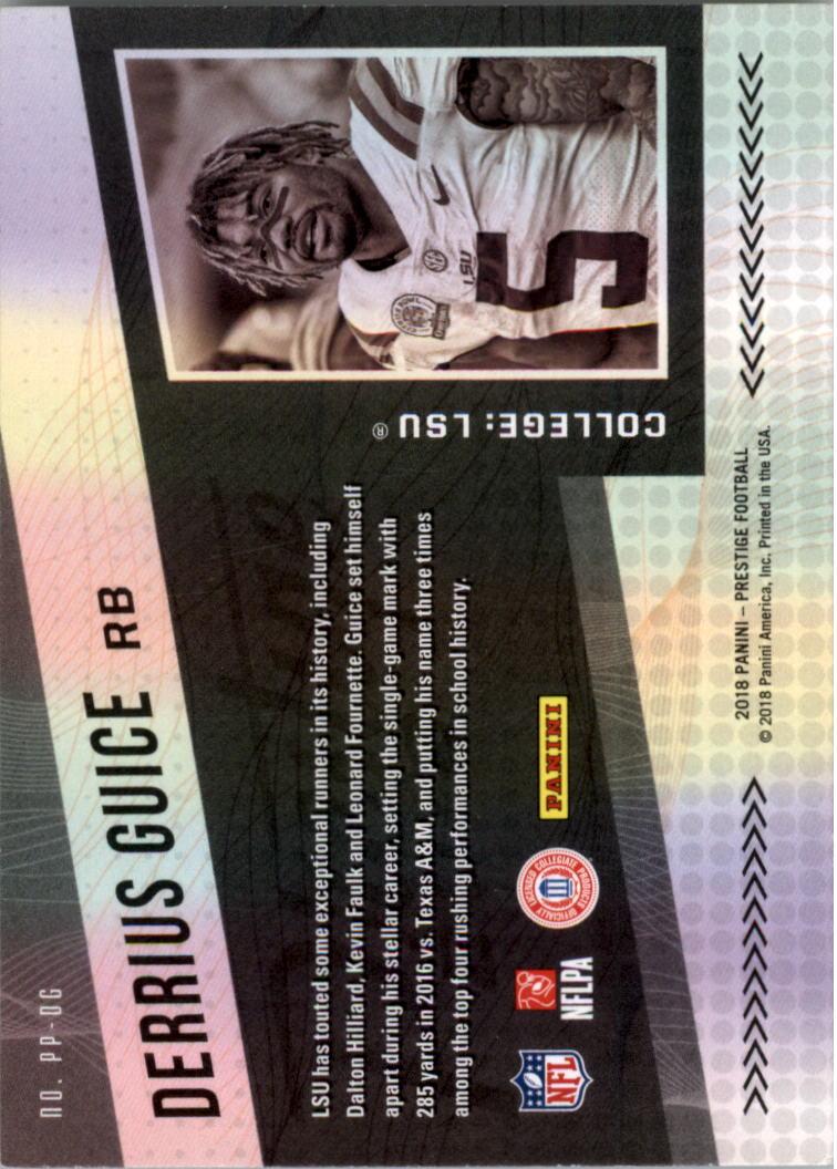 rookie #286 Luke Falk 2018 fútbol prestigio Walker,