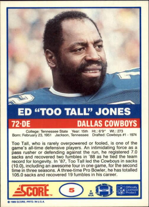 1989-Score-Football-Card-s-1-200-Rookies-A0435-You-Pick-10-FREE-SHIP thumbnail 9