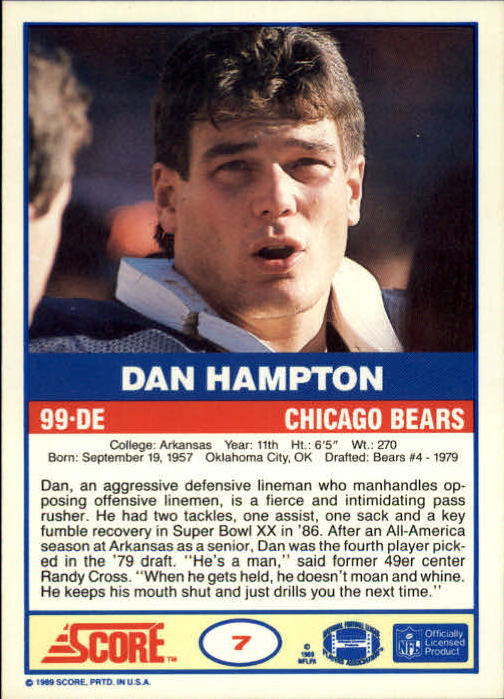 1989-Score-Football-Card-s-1-200-Rookies-A0435-You-Pick-10-FREE-SHIP thumbnail 13