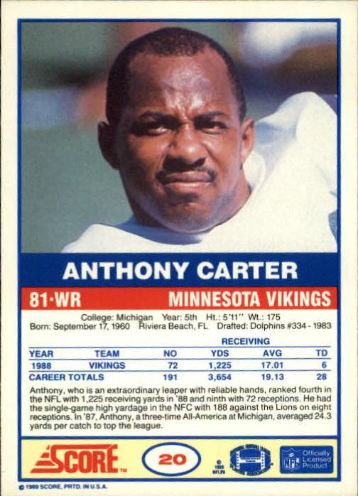 1989-Score-Football-Card-s-1-200-Rookies-A0435-You-Pick-10-FREE-SHIP thumbnail 37