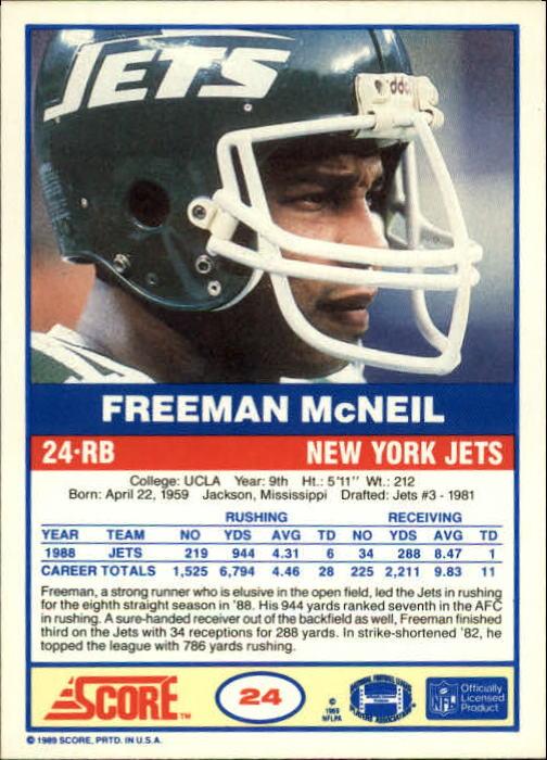 1989-Score-Football-Card-s-1-200-Rookies-A0435-You-Pick-10-FREE-SHIP thumbnail 45