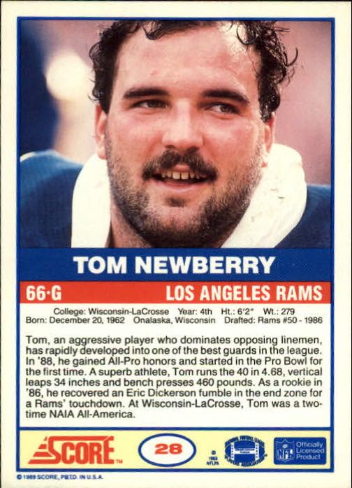 1989-Score-Football-Card-s-1-200-Rookies-A0435-You-Pick-10-FREE-SHIP thumbnail 53
