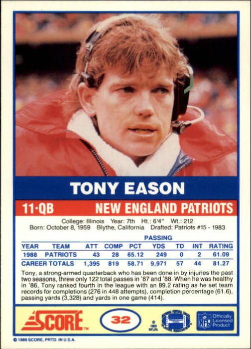1989-Score-Football-Card-s-1-200-Rookies-A0435-You-Pick-10-FREE-SHIP thumbnail 61