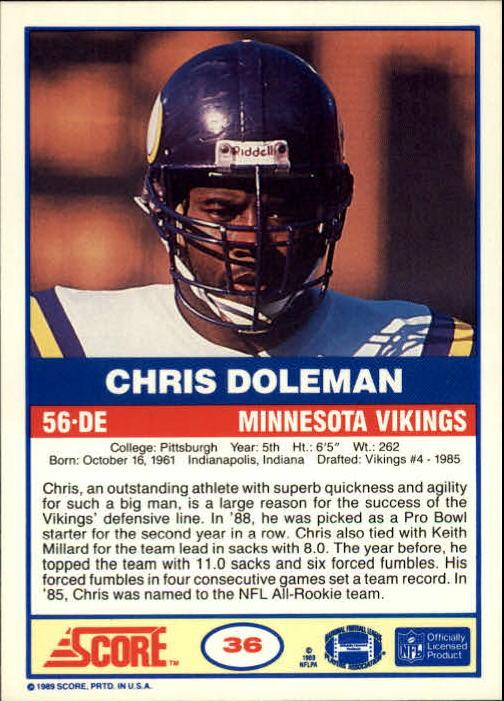 1989-Score-Football-Card-s-1-200-Rookies-A0435-You-Pick-10-FREE-SHIP thumbnail 67