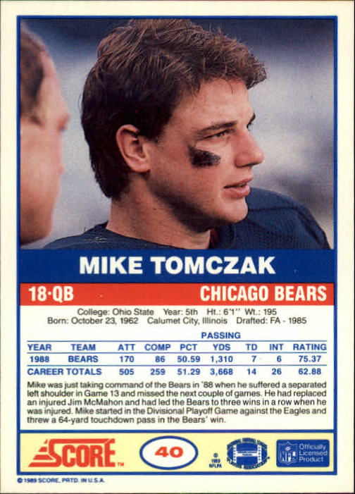 1989-Score-Football-Card-s-1-200-Rookies-A0435-You-Pick-10-FREE-SHIP thumbnail 75