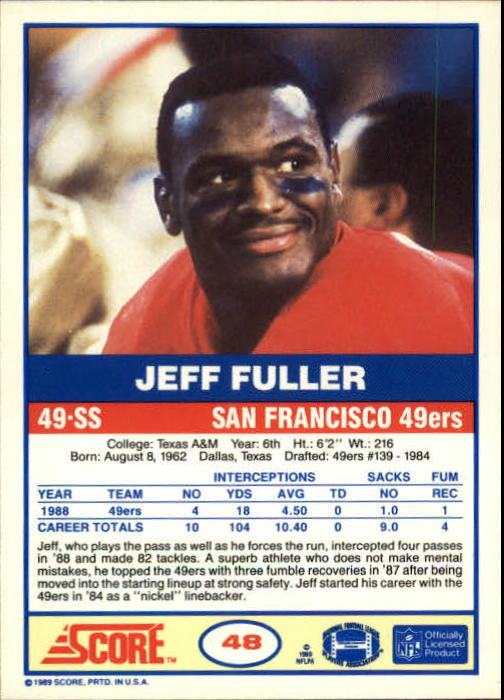 1989-Score-Football-Card-s-1-200-Rookies-A0435-You-Pick-10-FREE-SHIP thumbnail 91