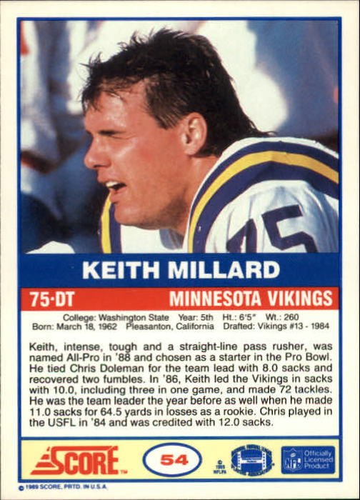 1989-Score-Football-Card-s-1-200-Rookies-A0435-You-Pick-10-FREE-SHIP thumbnail 103