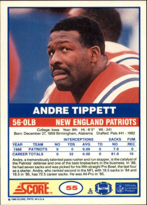 1989-Score-Football-Card-s-1-200-Rookies-A0435-You-Pick-10-FREE-SHIP thumbnail 105