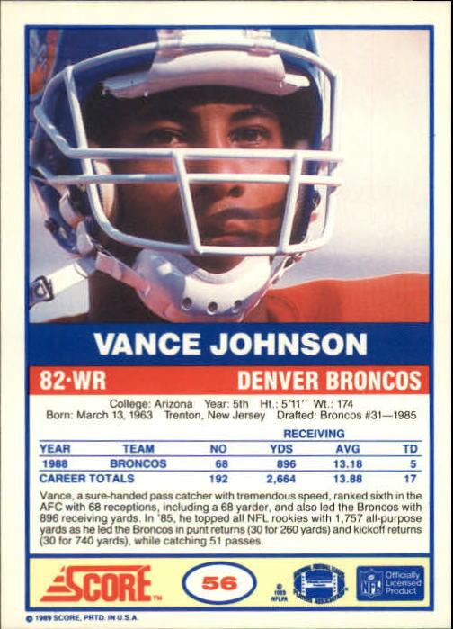 1989-Score-Football-Card-s-1-200-Rookies-A0435-You-Pick-10-FREE-SHIP thumbnail 107