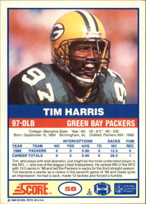 1989-Score-Football-Card-s-1-200-Rookies-A0435-You-Pick-10-FREE-SHIP thumbnail 111