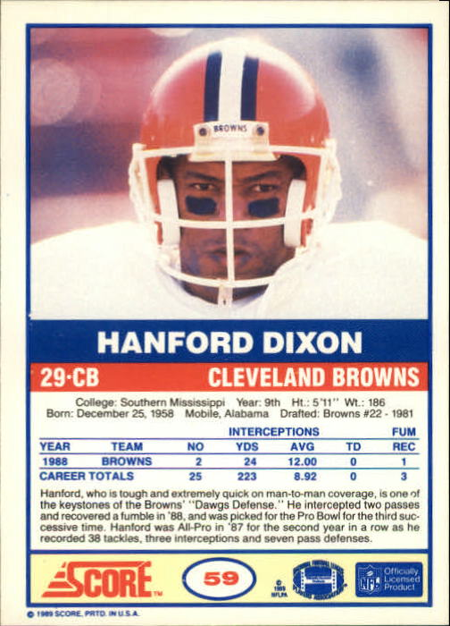 1989-Score-Football-Card-s-1-200-Rookies-A0435-You-Pick-10-FREE-SHIP thumbnail 113