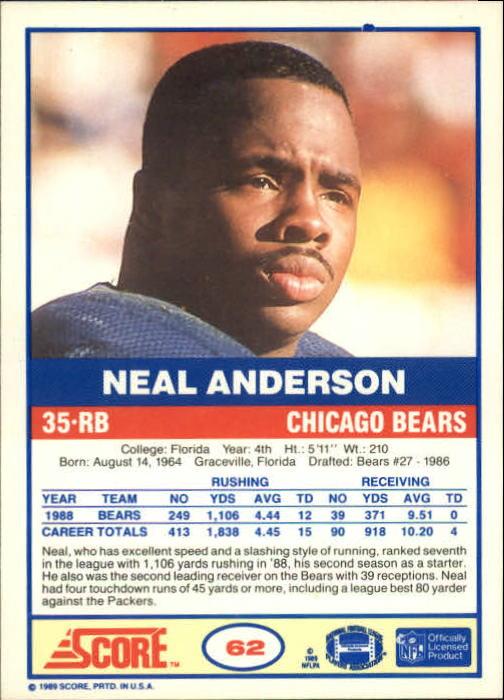 1989-Score-Football-Card-s-1-200-Rookies-A0435-You-Pick-10-FREE-SHIP thumbnail 119