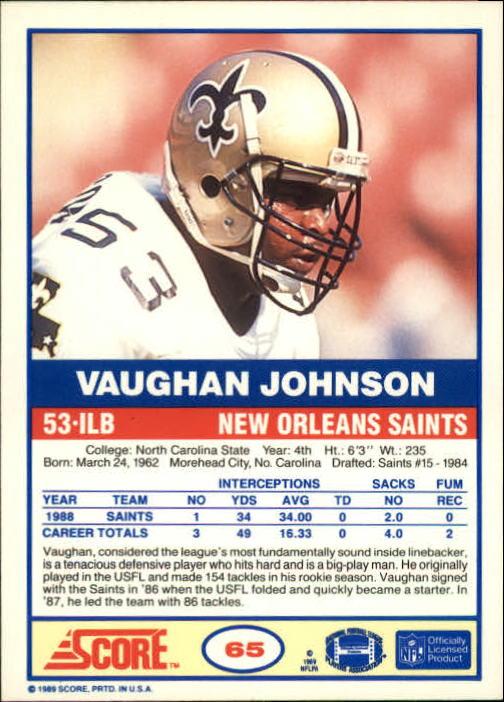 1989-Score-Football-Card-s-1-200-Rookies-A0435-You-Pick-10-FREE-SHIP thumbnail 125
